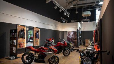 MV Agusta Indonesia Buka Flagship Store