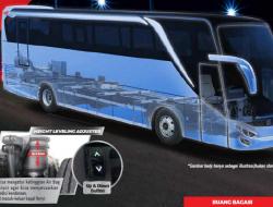 Hino Luncurkan Bus Air Suspension R260 AS
