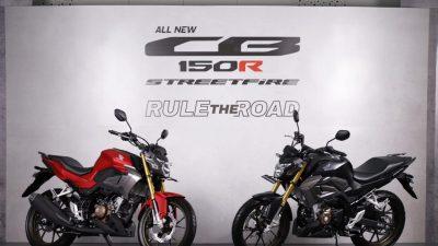 Dua Model All New CB150R Streetfire Meluncur, Ini Harganya