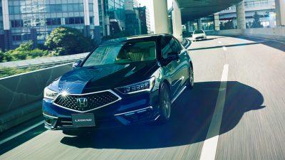 All New Legend Hybrid EX Dilengkapi Honda Sensing