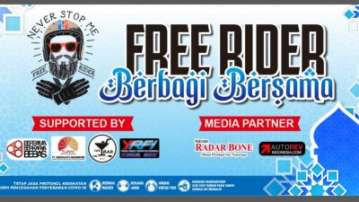 Free Rider Bone In Action: Berbagi Bersama