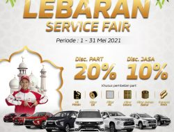 Mitsubishi Tawarkan Promo Lebaran Service Fair 2021