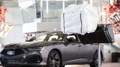 Teknologi Airbag All New Acura Tlx 2021 Raih Penghargaan Best Of What's New Award Dari Popular Science