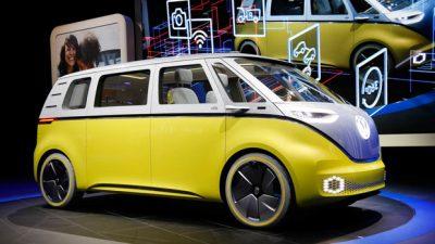Volkswagen I.D. Crozz II Gunakan Ban Hankook