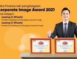 Dipercaya Masyarakat, Adira Finance Diganjar 2 Penghargaan