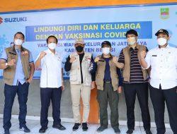 Suzuki Dukung Vaksinasi Covid-19 Warga Tambun Dan Cikarang