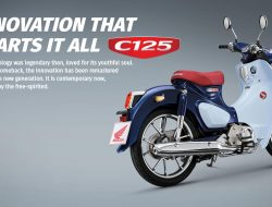 AHM Rilis Warna Baru Si Klasik Honda Super Cub C12 Menjadi Semakin Cantik