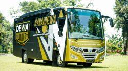 Dewa United FC Kenalkan Dua Bus Official