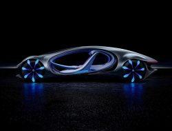 Mercedes-Benz VISION AVTR: Mengoperasikan User Interface Dengan Kekuatan Pikiran