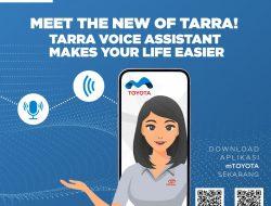 TARRA Sudah Menggunakan Fitur Voice Command